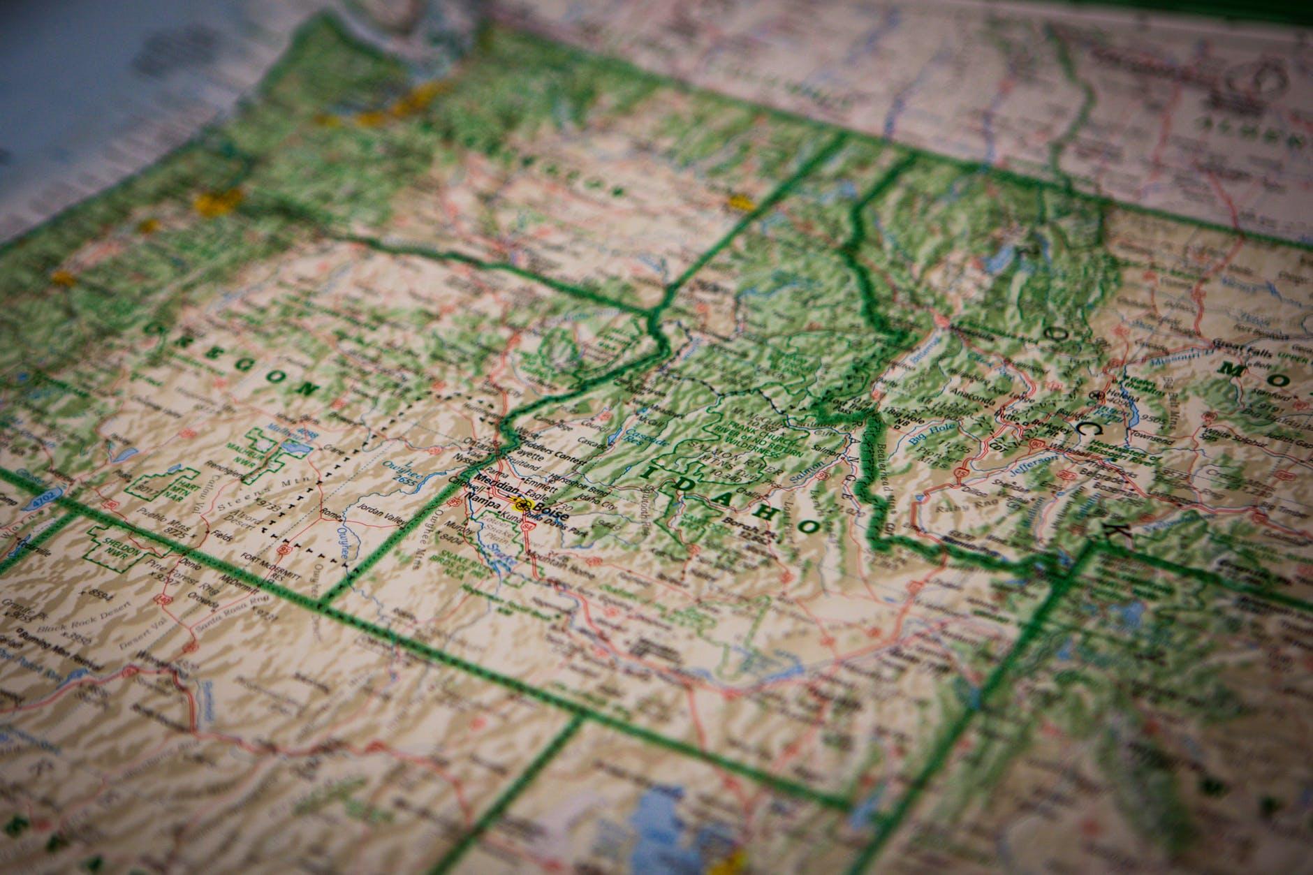 map navigation guide